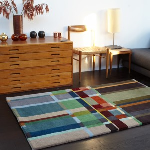 Lambswool Block Rug-01