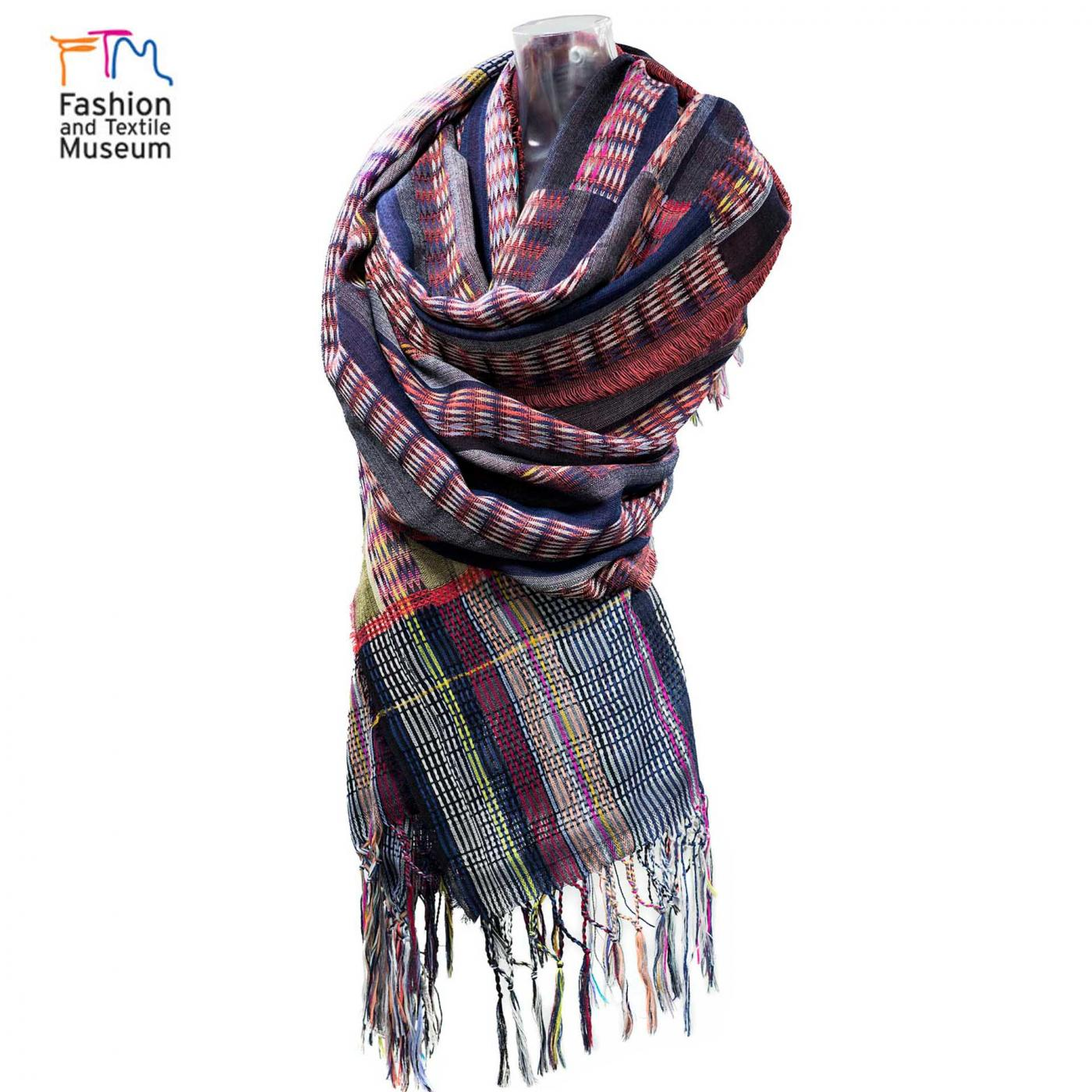 Fashion & Textile Museum – Made in Mexico rebozo wrap