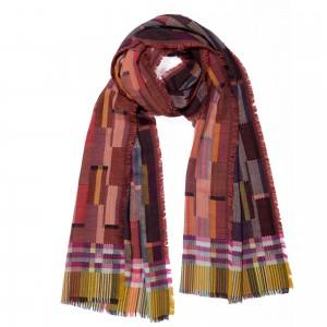 Double cloth wool wrap Friel