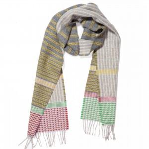 Lambswool box scarves BOX LG PAL
