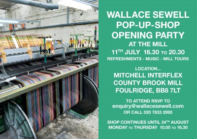 INVITATION... Mill Party and POP-UP Shop!