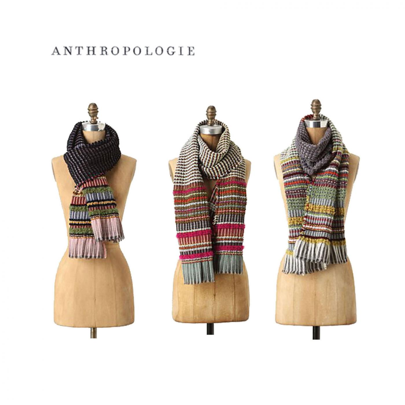 Anthropologie – Chenille wraps