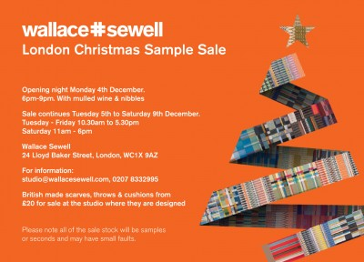 London Sale: 4th - 9th December