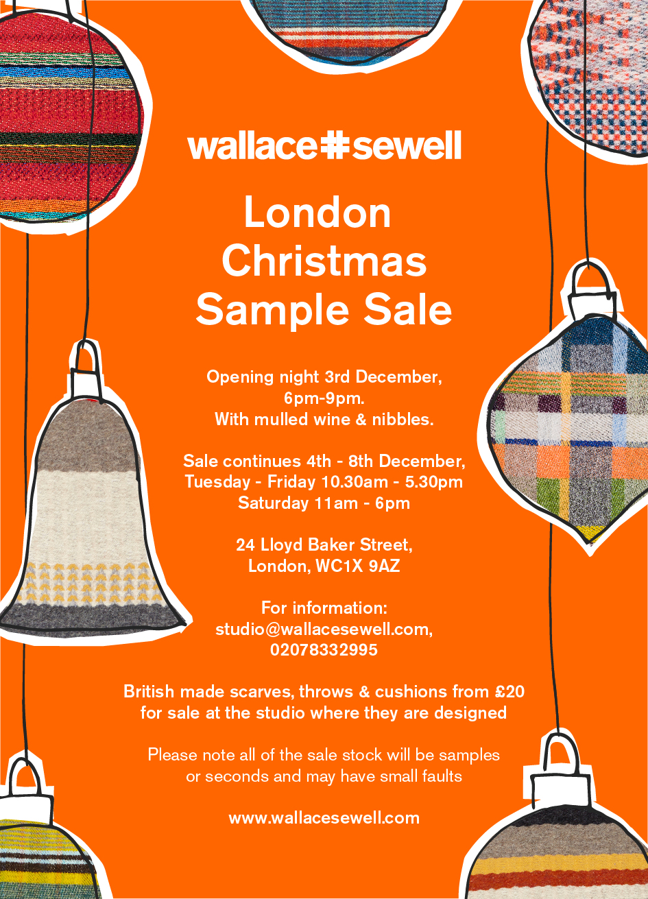 London Christmas Sample Sale