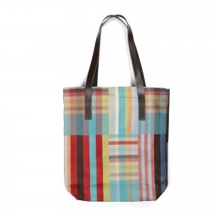 Exmouth Tote Bag - Red lining