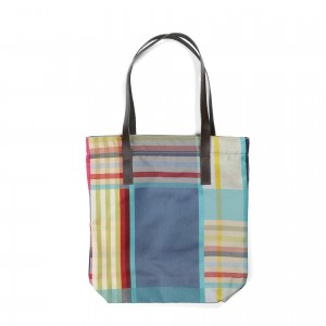 Exmouth Tote Bag - Olive lining