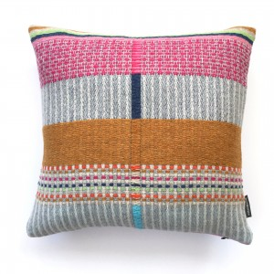 One off DOT and Chenille cushion