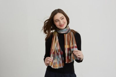 New Silk Block Scarves for 2020