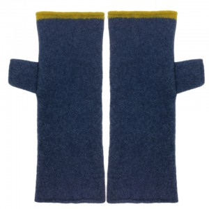 Katie Mawson Hand warmer Navy / Yellow
