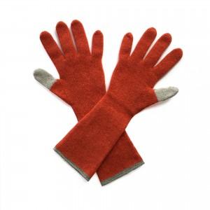 Katie Mawson Long Gloves - Orange