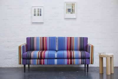 Swyft sofa + Wallace Sewell Collaboration