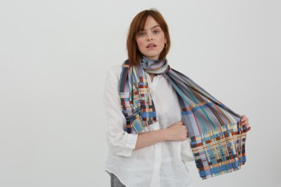Silk Block Scarves - Back by popular demand!