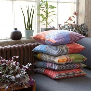 Pinstripe cushions