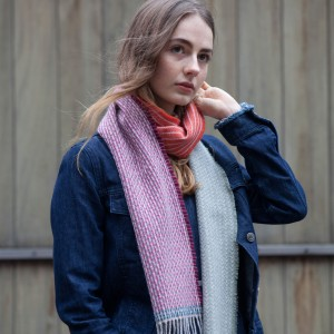 Lambswool Patchwork scarves