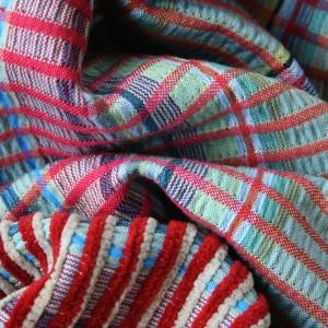 silk chenille detail